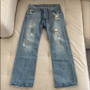 American Eagle Jeans - low rise boot cut 29x30